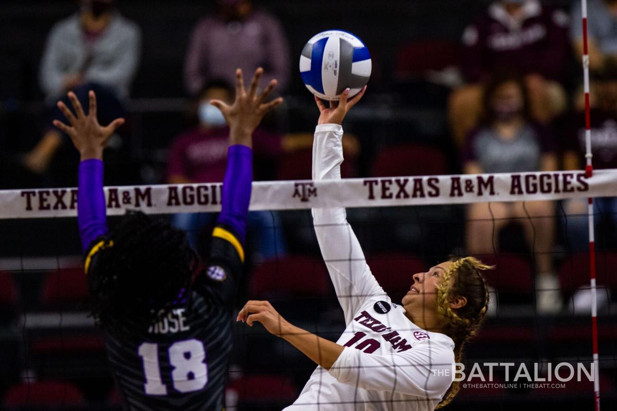Volleyball vs. LSU