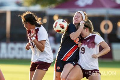 Soccer vs. Auburn
