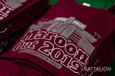 Maroon Out Shirts