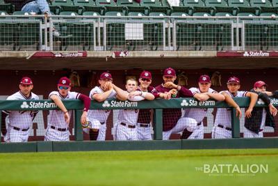 Baseball Aggie Leadoff