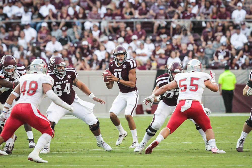 Texas A&M Wide Receiver Will Gunnell Gives Double Birds to Hometown Crowd