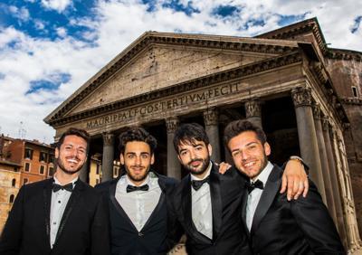 Four Italian Tenors