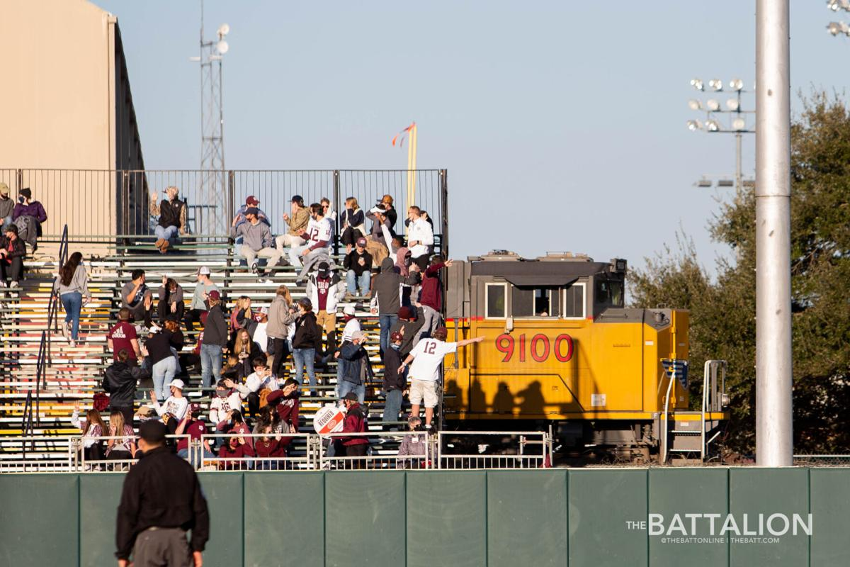 Baseball student section feature