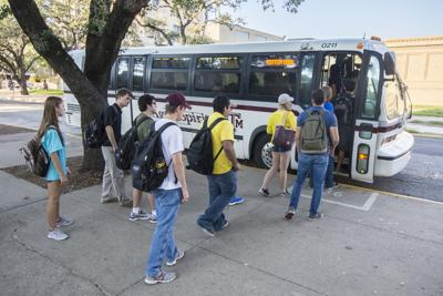 Transportation Services alleviates crowding on buses by adjusting routes