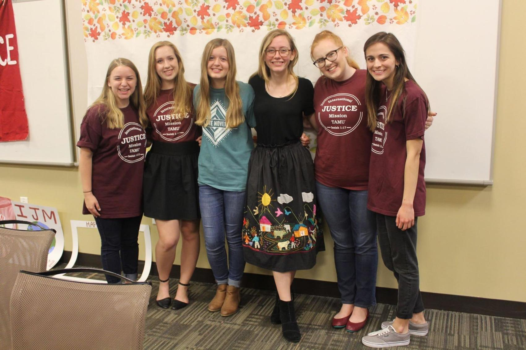 Students combat human trafficking through International Justice Mission