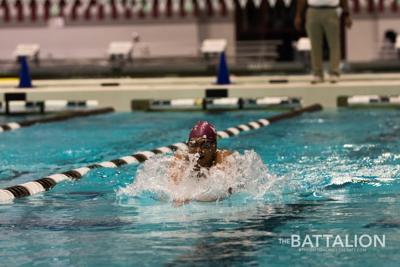 Men's Swimming vs. SMU (copy)
