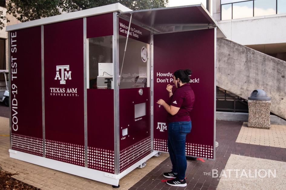 A M Unveils Covid 19 Testing Kiosks News Thebatt Com