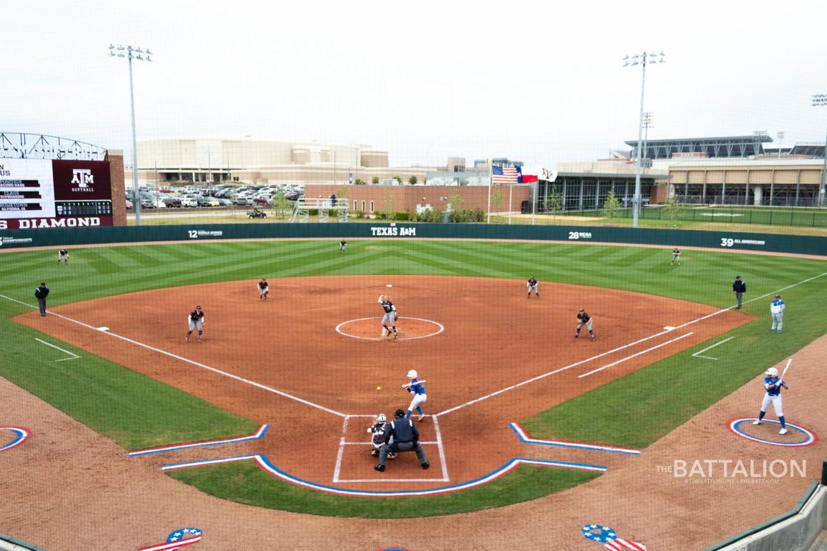 Softball vs BYU