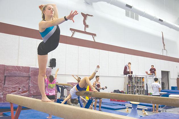 Gymnastics goes viral | Life & Arts | thebatt.com