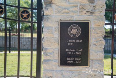 George H W Bush To Be Buried At Texas A M Thursday News Thebatt Com