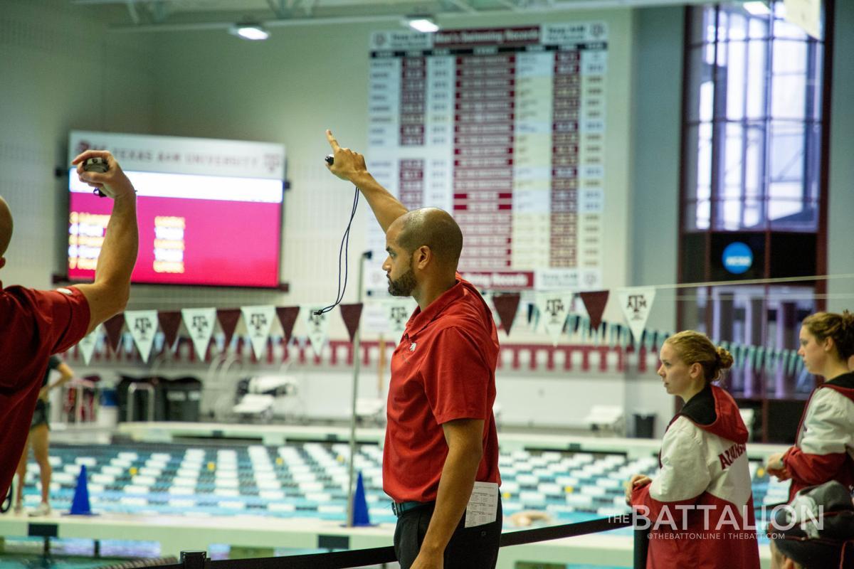GALLERY: Women's Swimming & Diving vs. Arkansas