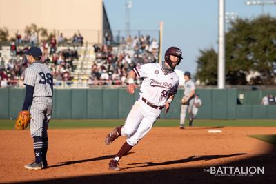 Baseball vs. Xavier Game 1