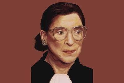 Ruth Bader Ginsburg Graphic