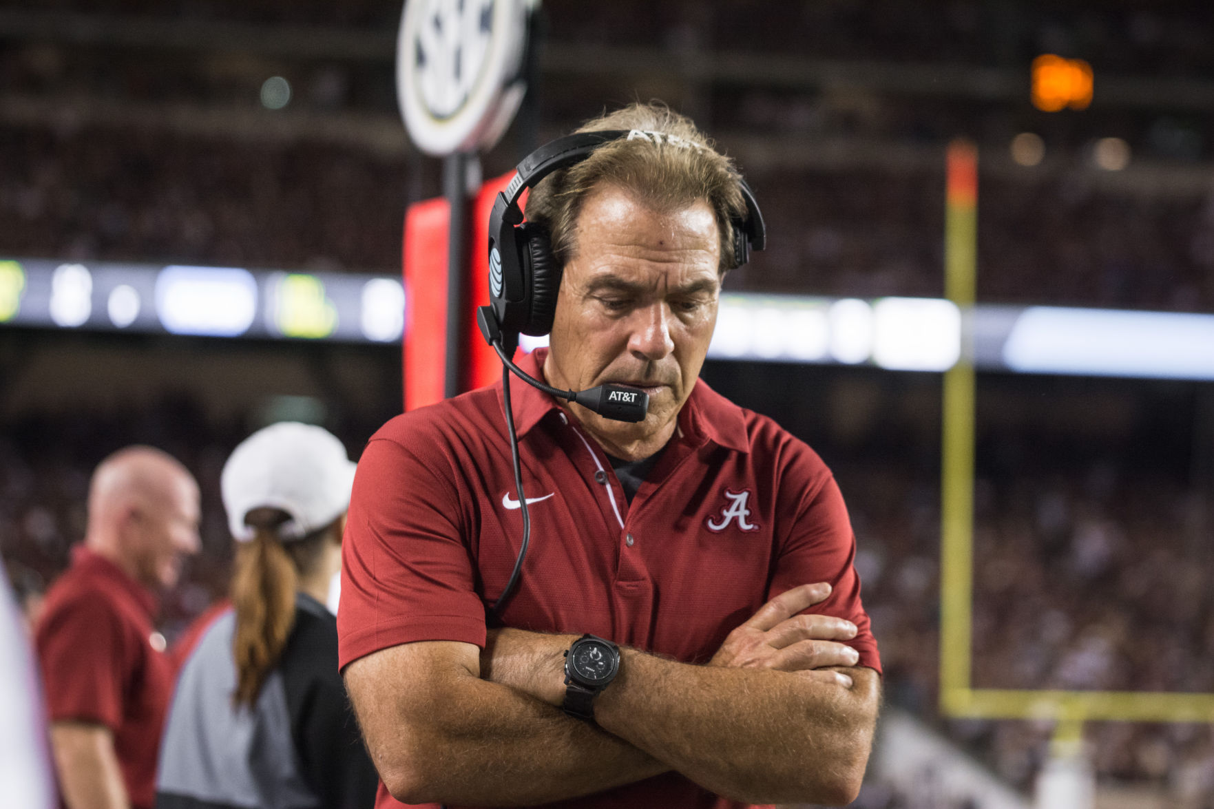 The story behind 2 big Alabama plays, how film was factor