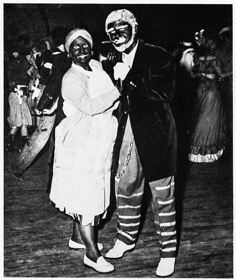 1949.15 Blackface Couple