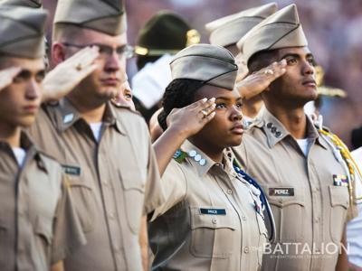 Cadets Salute