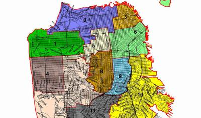 SF Supervisor Map