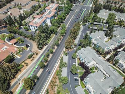 Aerial View of Cupertino