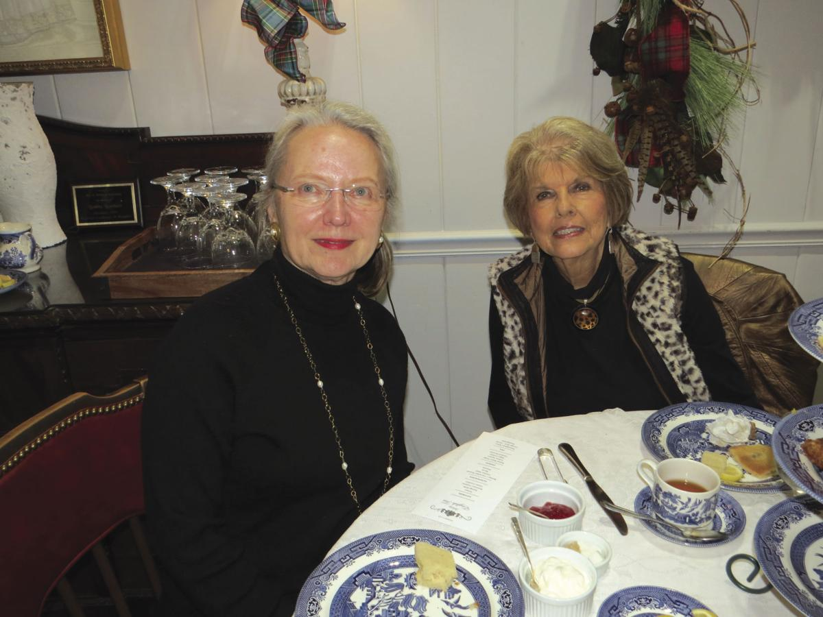 The Holiday English Tea at the Woman's Exchange