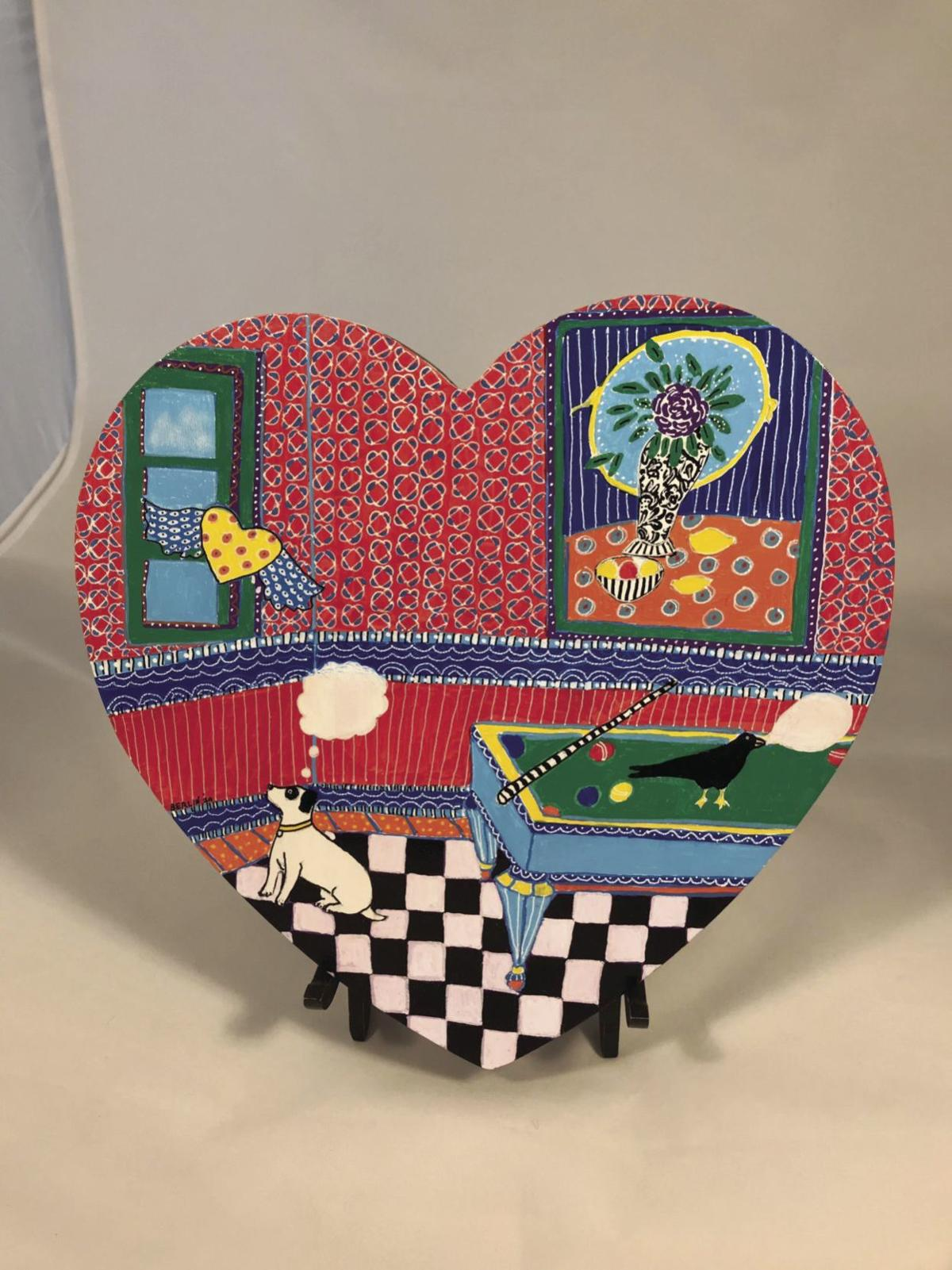 Works of Heart auction Feb. 15