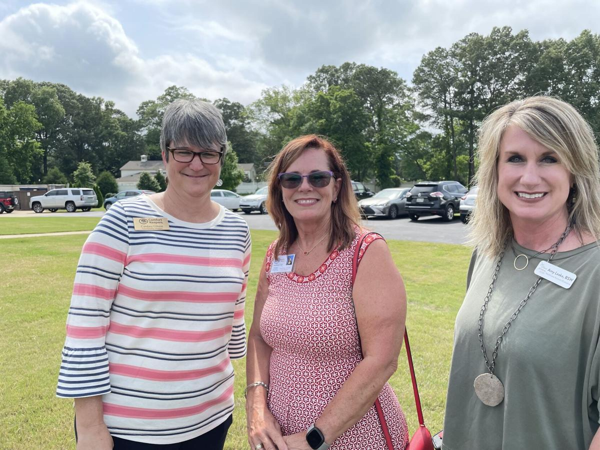 Candace Gibson, Annette House, Amy Leake