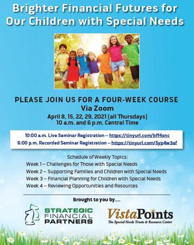 Vista Points series flyer