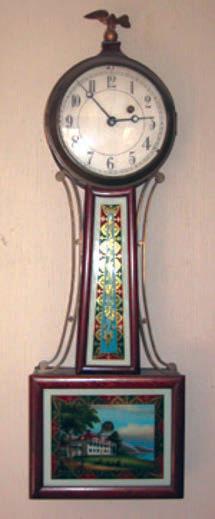 A Chelsea Willard Banjo Clock