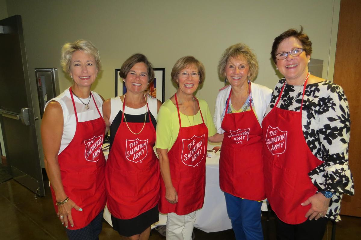 The Salvation Army Women's Auxiliary game day at the Kroc Center