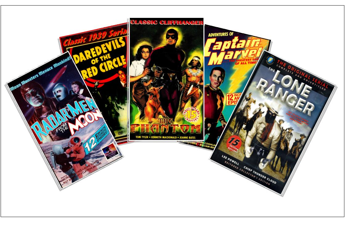Action, adventures and cliffhangers of serials brought