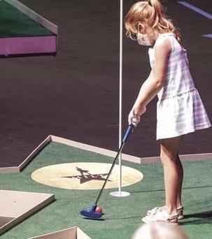 Orpheum mini golf takes the stage