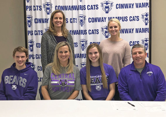 Conway's Collums, Chaffin sign letters of intent