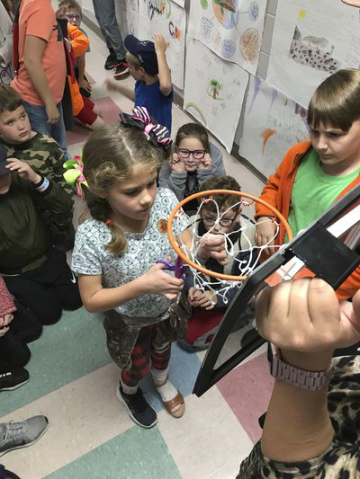 Students 'cut net' to encourage growth