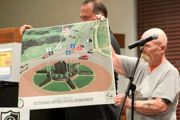 Faulkner County honors veterans