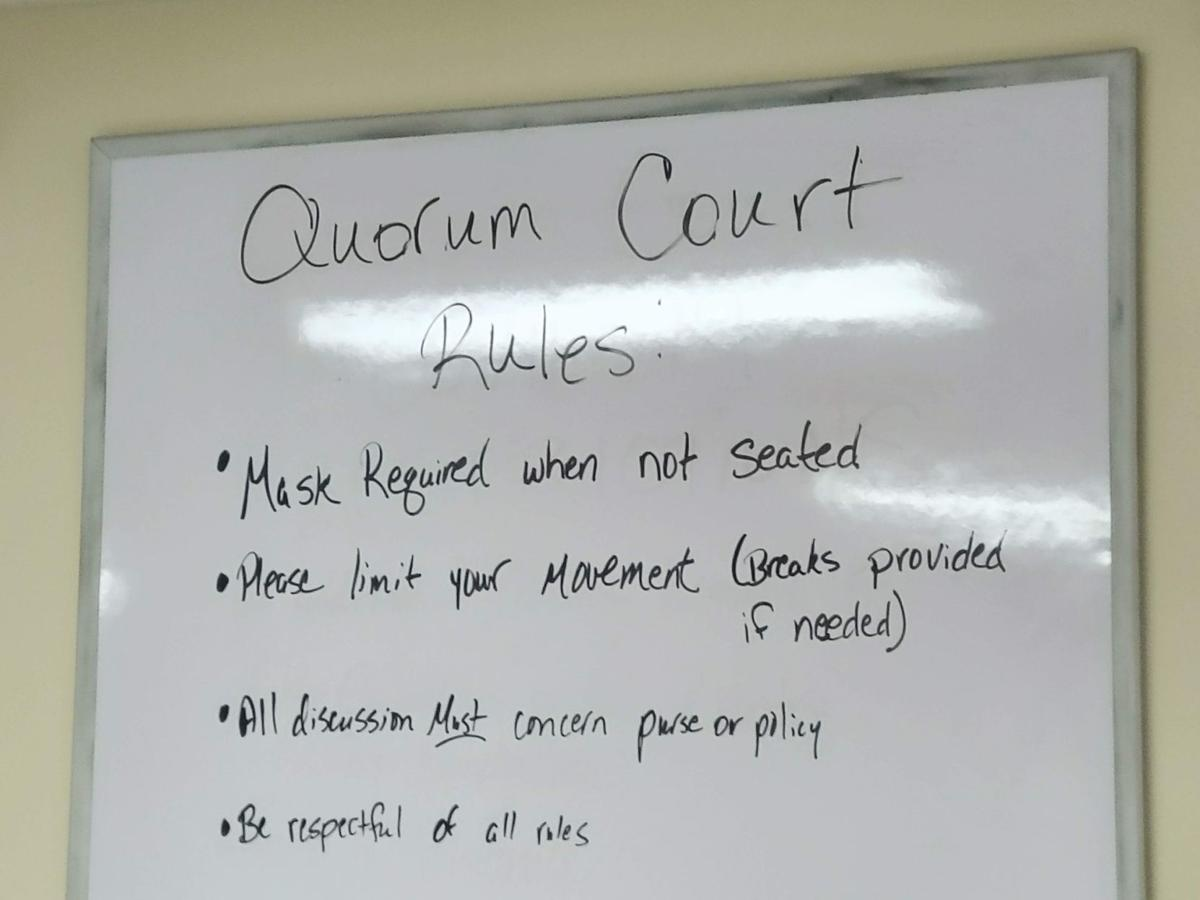Rules of the court.