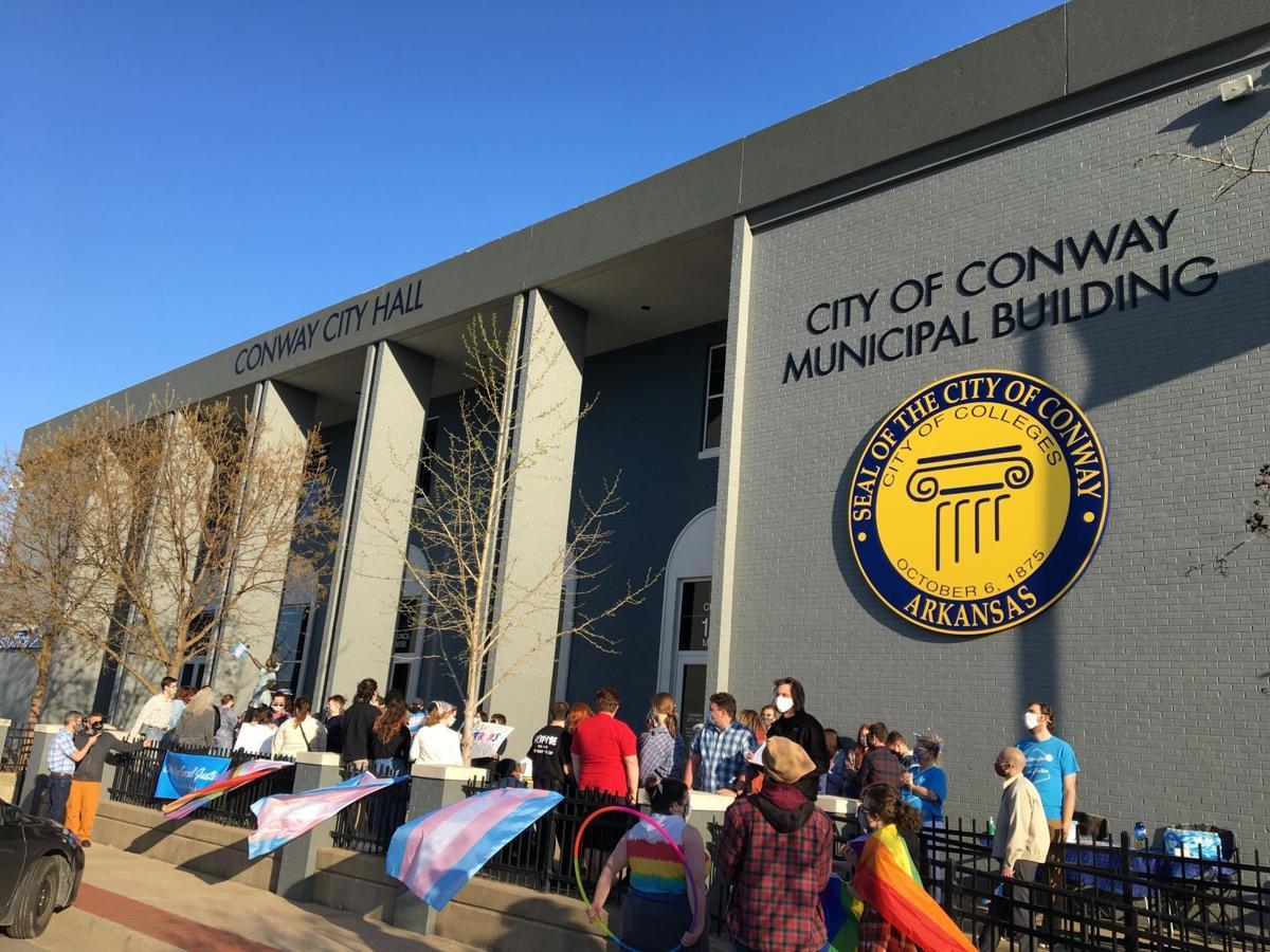 Transgender rally