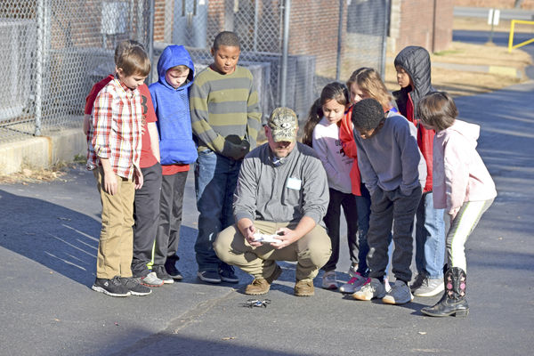 Students use STEM during Operation Dumbo Drop