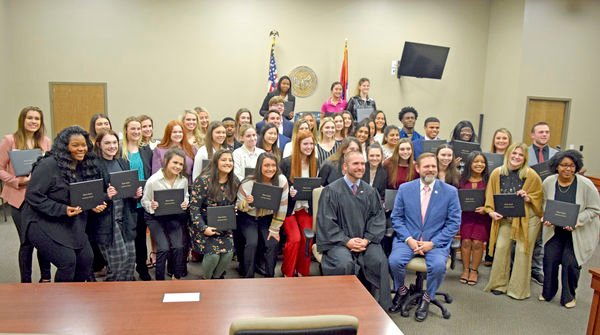 40 take oath to serve as 2020 Teen Court class