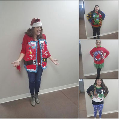 Friendly Competition Sparks Over Christmas Themed Sweaters