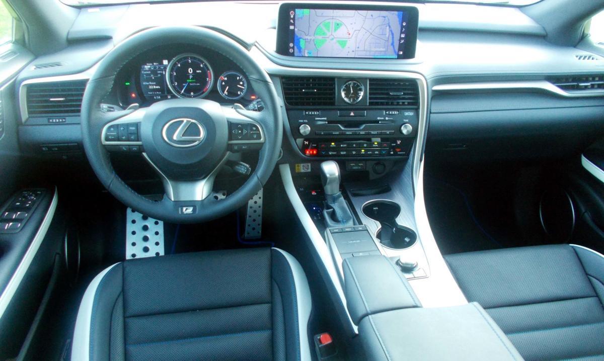 2021 Lexus  RX 350 F Sport interior.jpg