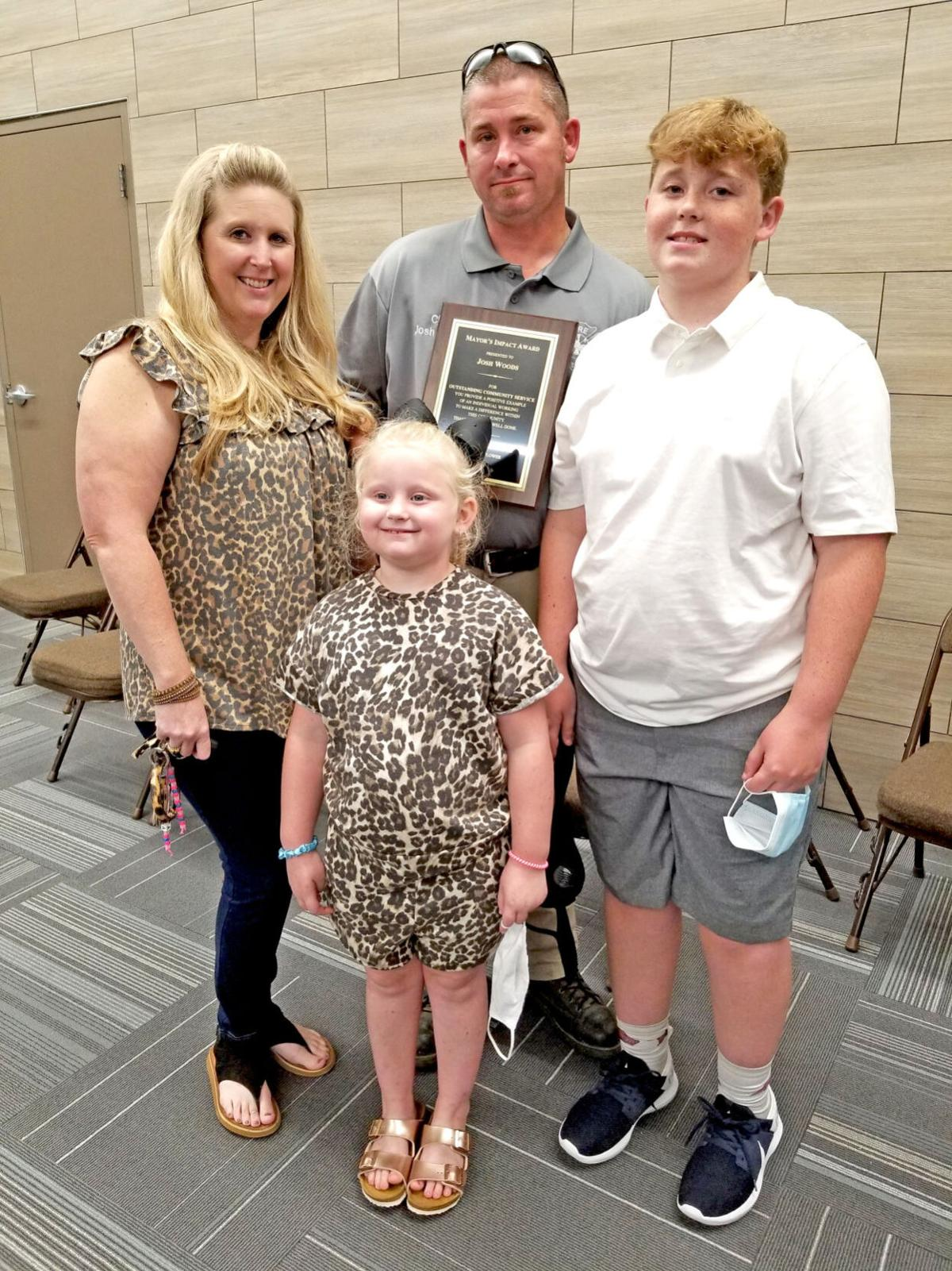 Fire chief recognized for being 'a hero,' 'going the extra mile'