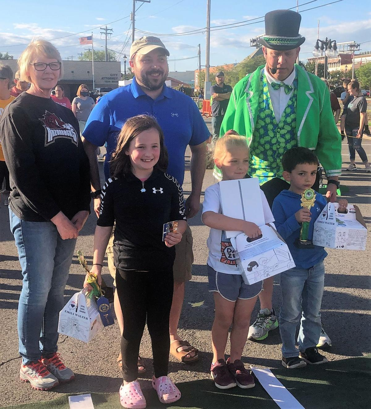 St. Joseph student out-hops competition in annual toad races 2