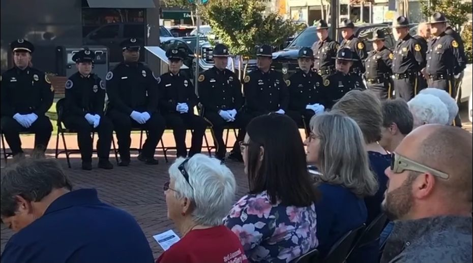 Fallen Officers Ceremony