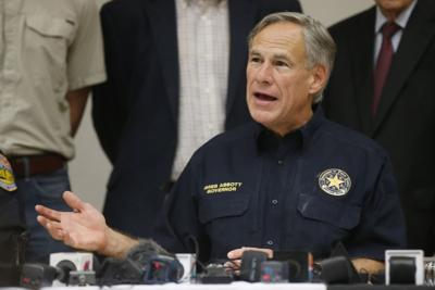 FILE - Texas Governor Greg Abbott