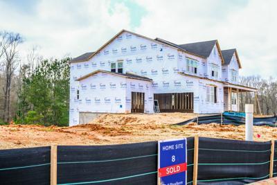 FILE - Georgia home construction