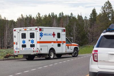 FILE - Wyoming Ambulance