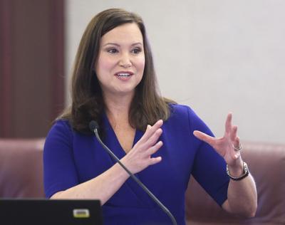 FILE - Florida Attorney General Ashley Moody