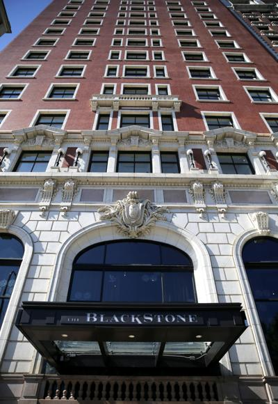 FILE - hotel, Chicago, Illinois, The Blackstone Hotel