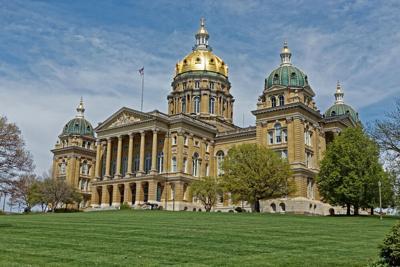 FILE - Iowa, State Capitol