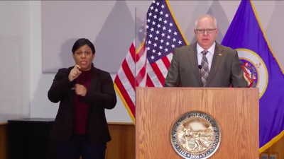 Gov. Tim Walz Feb. 3 2021