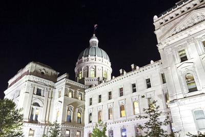 FILE - Indiana Capitol building